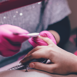 luksus manicure og pedicure