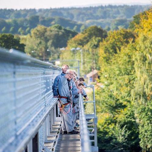 bridgewalking walking